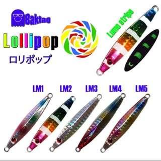 Lollipop Micro Jigs For Fishing (25g and 40g)