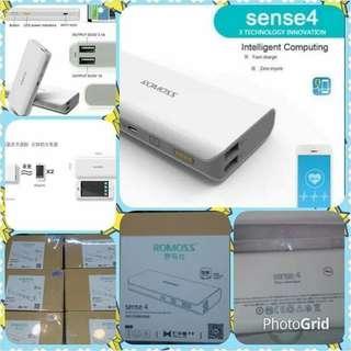 Sense 4 Romoss Powerbank