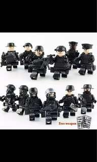 🚚 Police Swat Team Lego-compatible