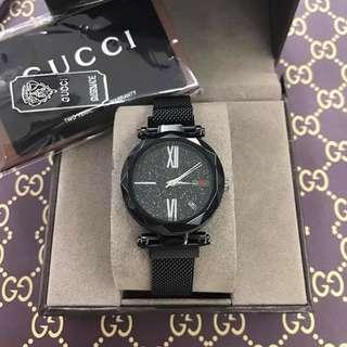 authentic gucci magnetic strap watch