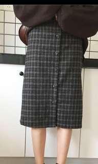 🚚 格紋 半身裙