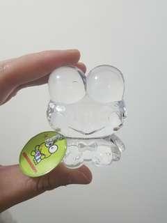 Sanrio青蛙仔keroppi水晶