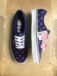 *Price Drop* RARE Vans x Major League Baseball Authentic NY Mets Skate Shoes