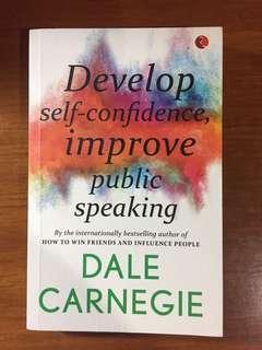 Develop Self Confidence Improve Public Speaking by Dale Carnegie