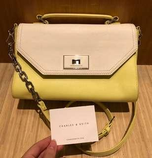 Charles & Keith Hand / Sling Chain Bag - AUTHENTIC