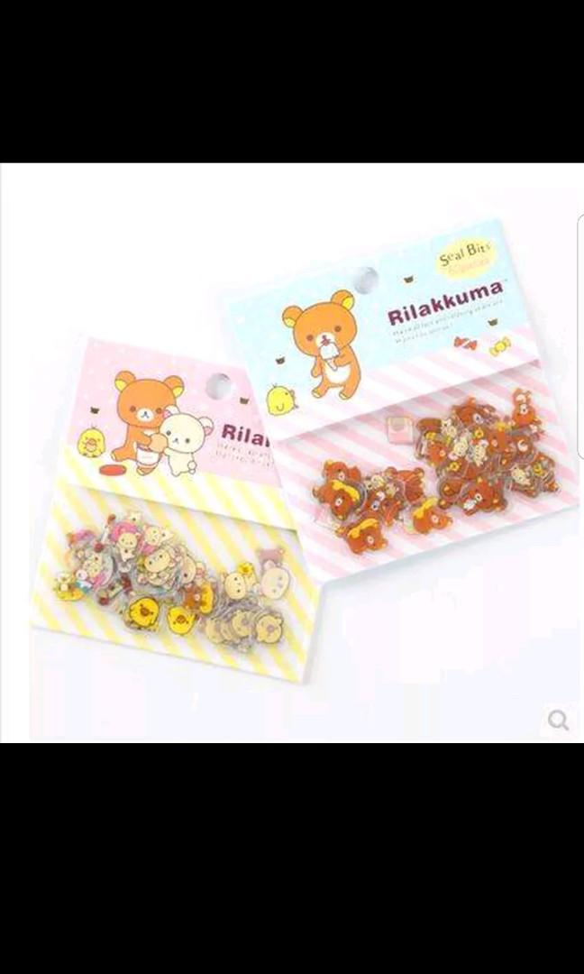 80 pc rilakkuma stickers