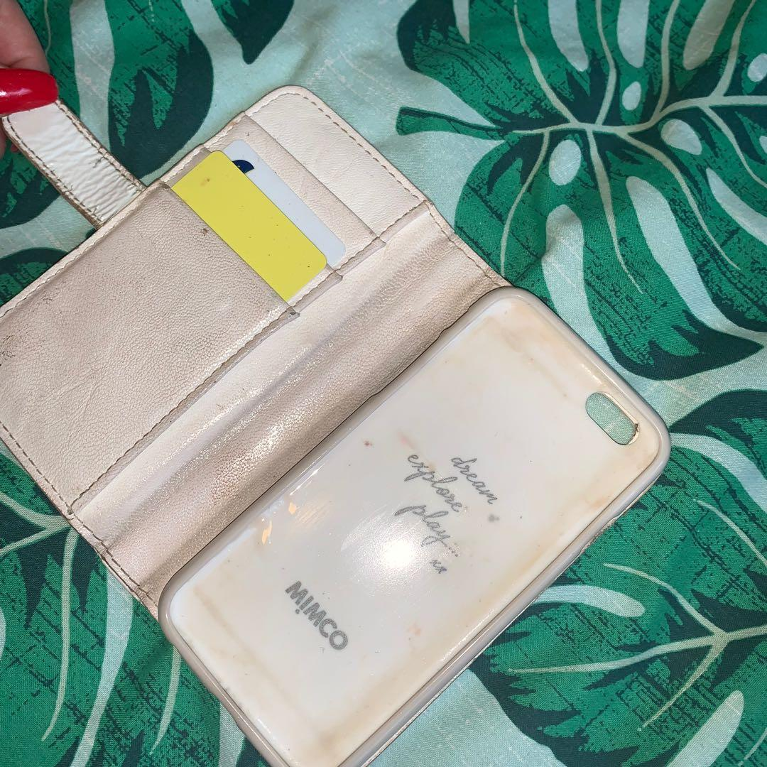 ⚡️ Authentic but used - Mimco purse and Iphone 6 Case