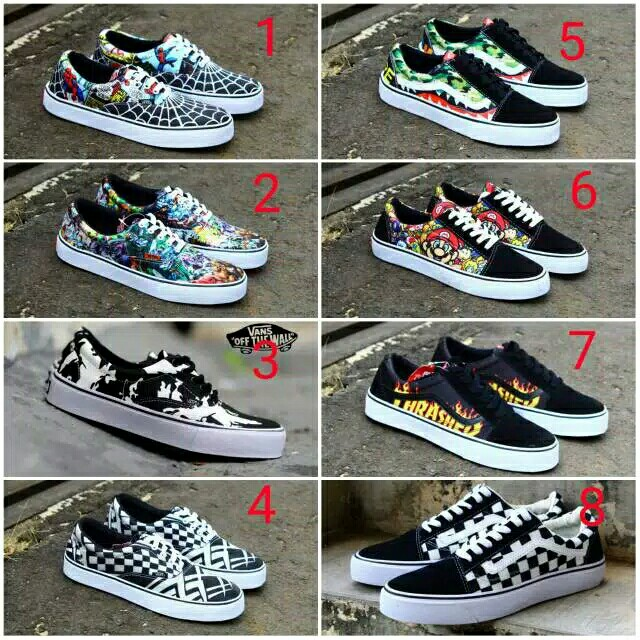59f61a1afd Preorder)Men shoes vans old skool motif. Grade A