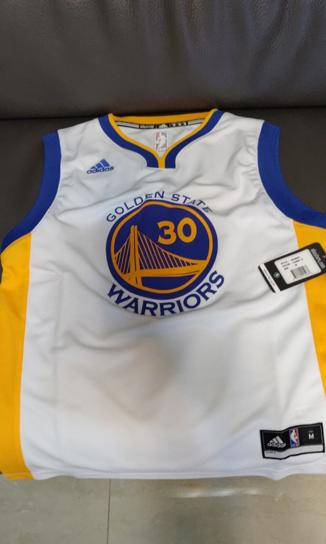 newest 48186 568c8 Adidas Golden State Warriors Curry replica jersey, youth size M