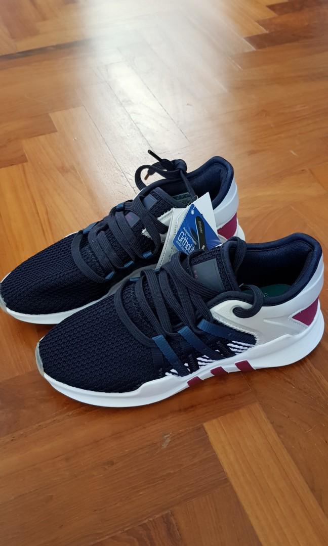 wholesale dealer 3ca33 a6ae0 adidas Originals EQT Racing Adv Sneakers In Navy