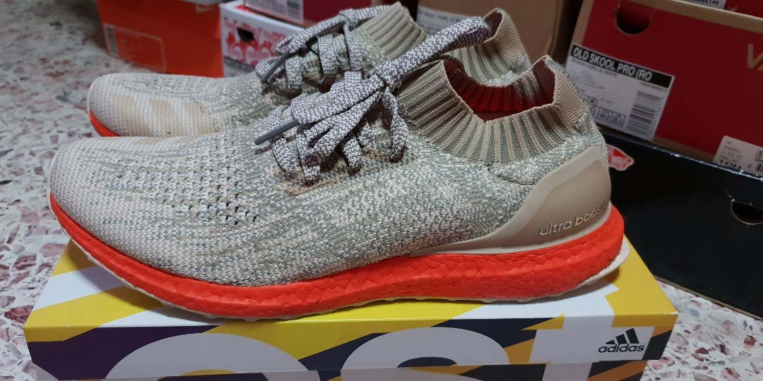 wholesale dealer 26827 f8c70 Adidas Ultra Boost Uncaged Tan Solar Red