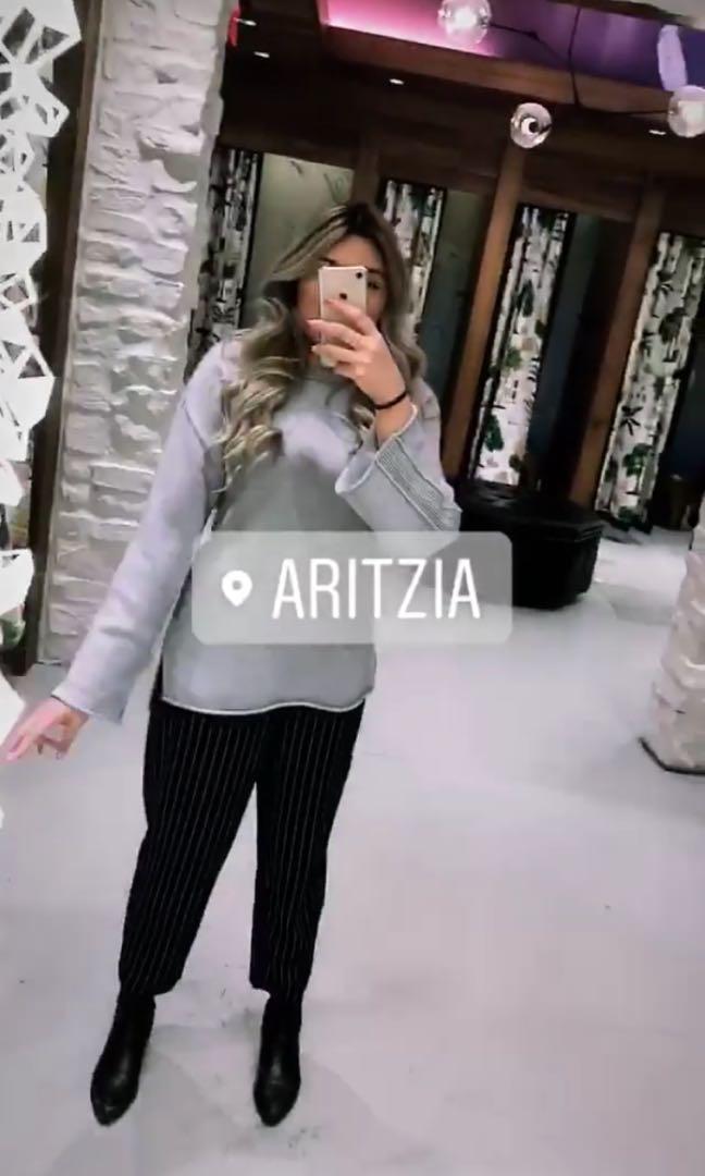 ARITZIA WILFRED KNIT SWEATER