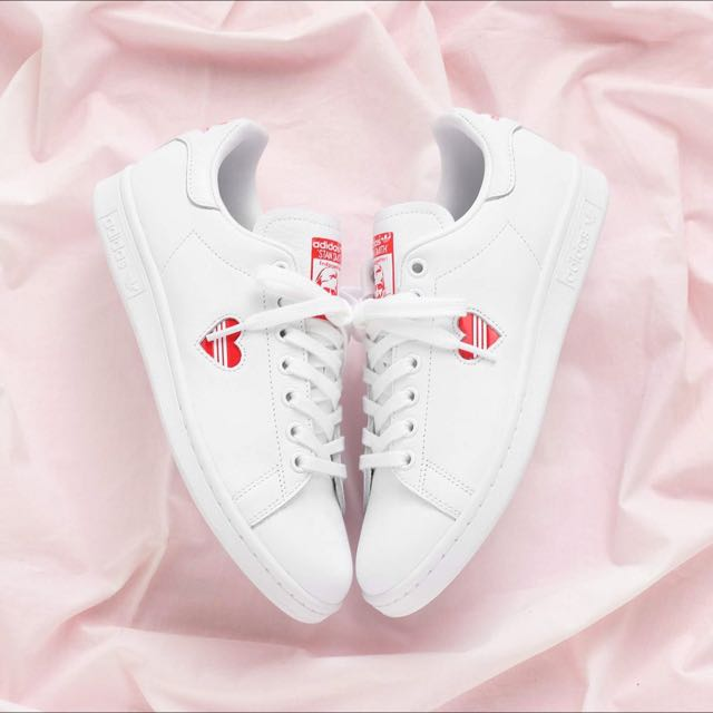 234dfbf1dfe3 ON-HAND  AUTHENTIC ADIDAS STAN SMITH VALENTINE DAY PACK SNEAKERS ...