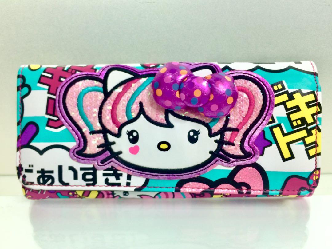 Authentic Japanimation Hello Kitty Wallet 4e4e66b9637ce