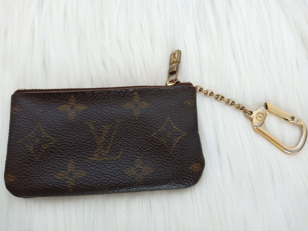 Authentic Louis Vuitton Monogram Coin Purse KeyRing Wallet x Gucci x ... 1dfe1d3a7930c