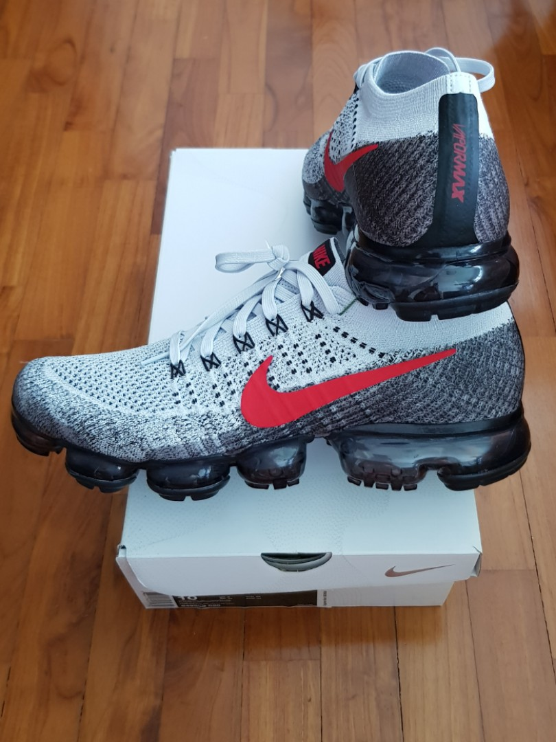 baad24c214c1a Authentic NIKE Air Vapormax Flyknit Platinum Red (UK9 US10)