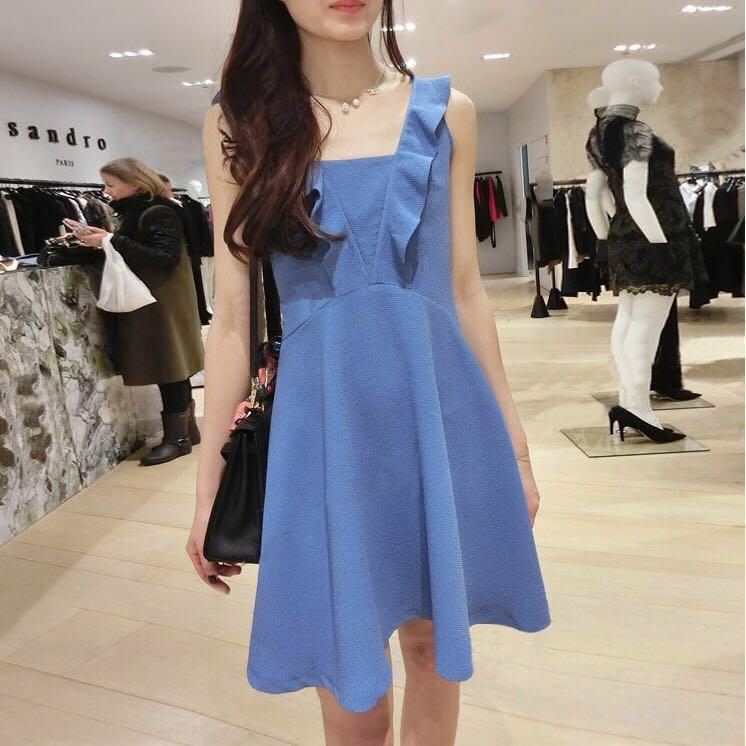 Blue dress brand new same style with the Sandro 17 collection