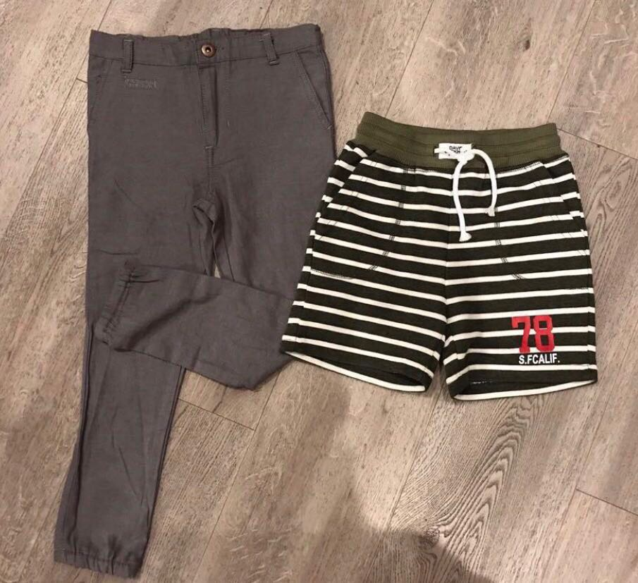 274e005b27 BN Boy Shorts And Pants ( 4-5T ) Bundle