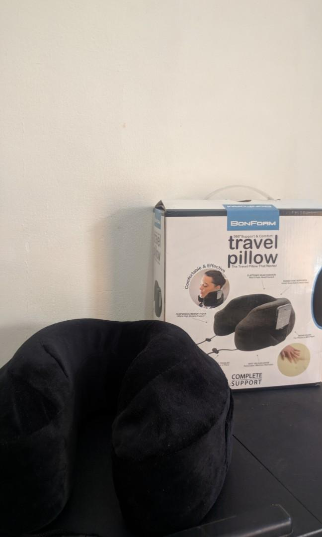 Bon Form Travel Pillow 360 degrees Comfort