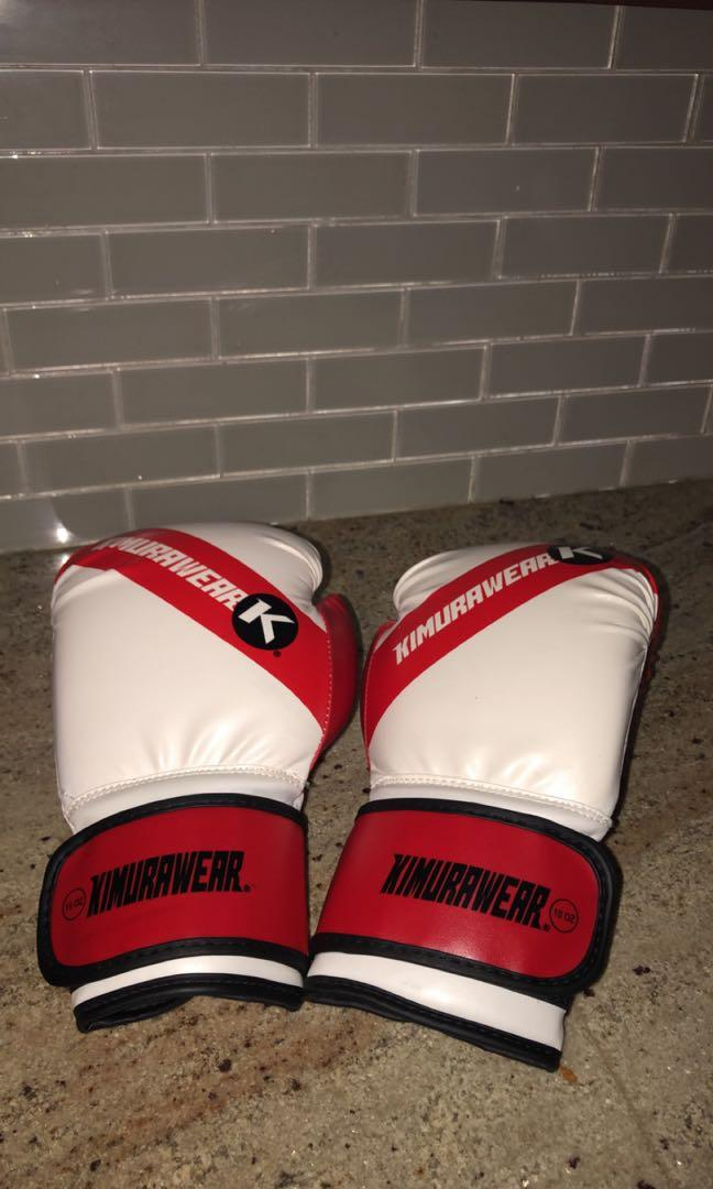 BRAND NEW KIMURAWEAR 10 oz BOXING GLOVES - FULL LEATHER
