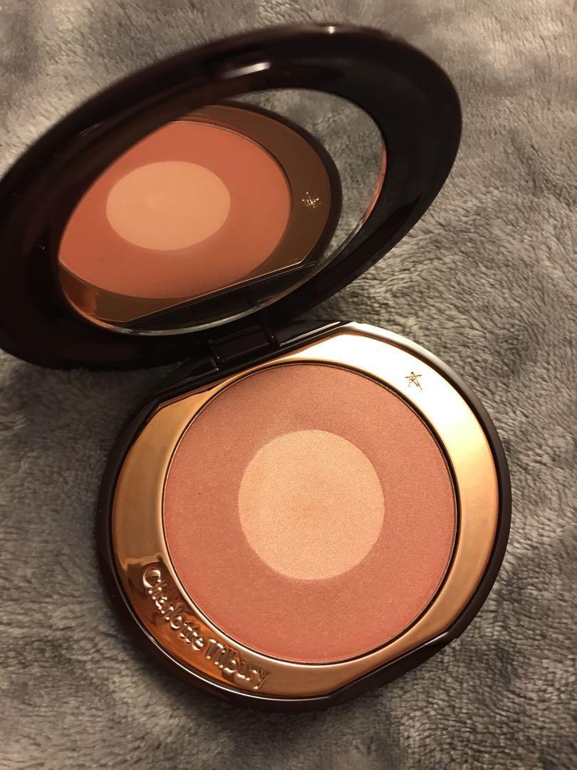 Brand new swatched only Charlotte Tilbury LE Pillow Talk Blush