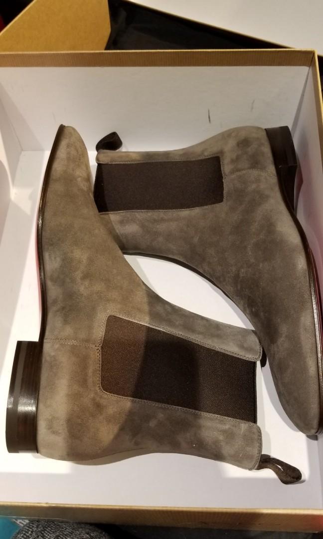 Christian Louboutin Mens Chelsea Boots