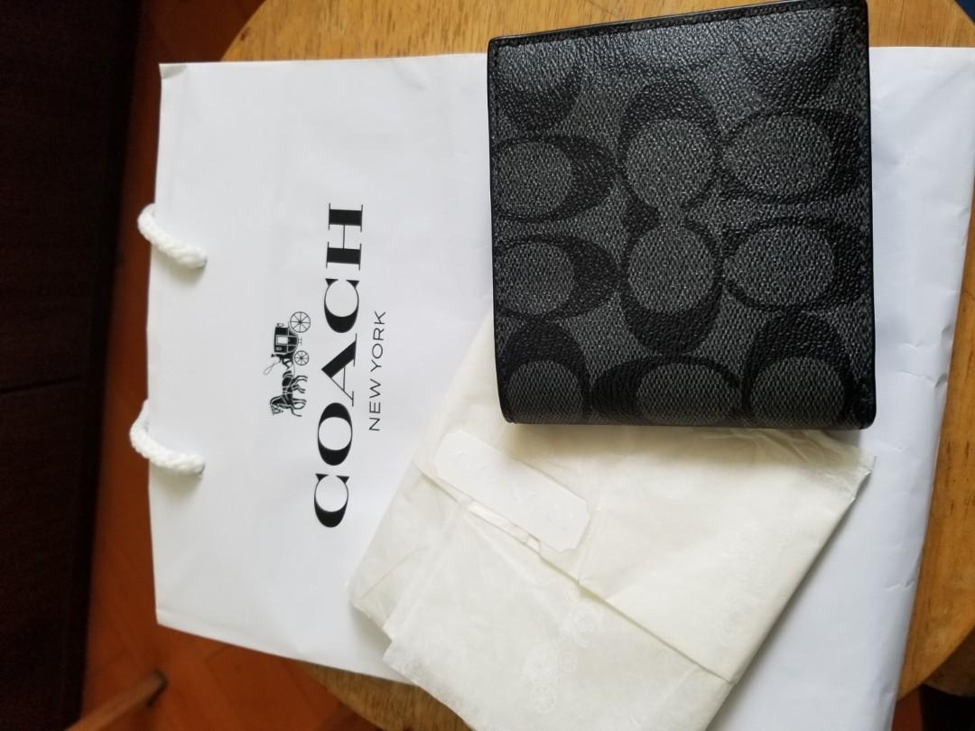 COACH 銀包, 100% NEW , NEVER USE