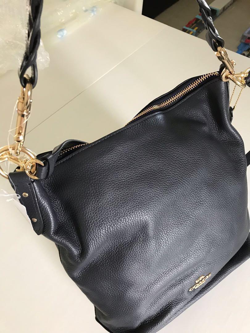 303c923ba6 Coach Bag ABBY DUFFLE midnight leather NEW