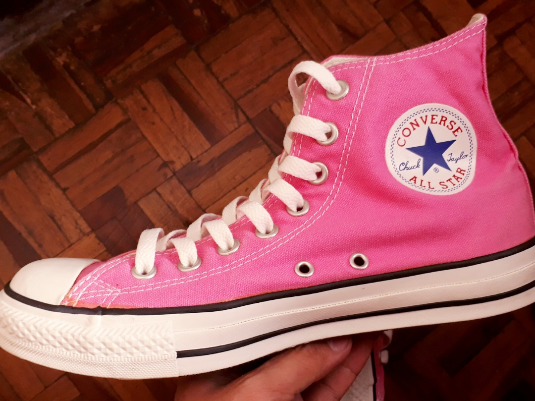 33c67097113d Re-priced!!! Converse All Star Chuck Taylor Hi Pink