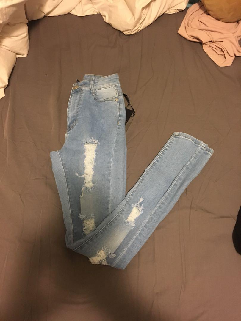 Fashion-nova high waisted jean