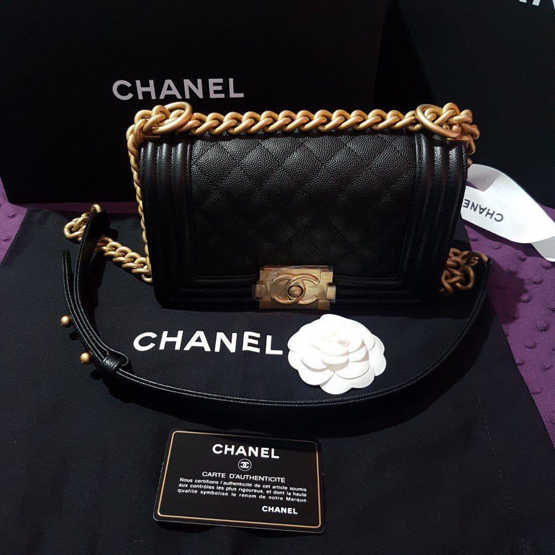 da0ddd6baf5b 🔥FAST DEAL🔥Chanel Boy Handbag series 25 (Receipt S$6,000+), Luxury ...