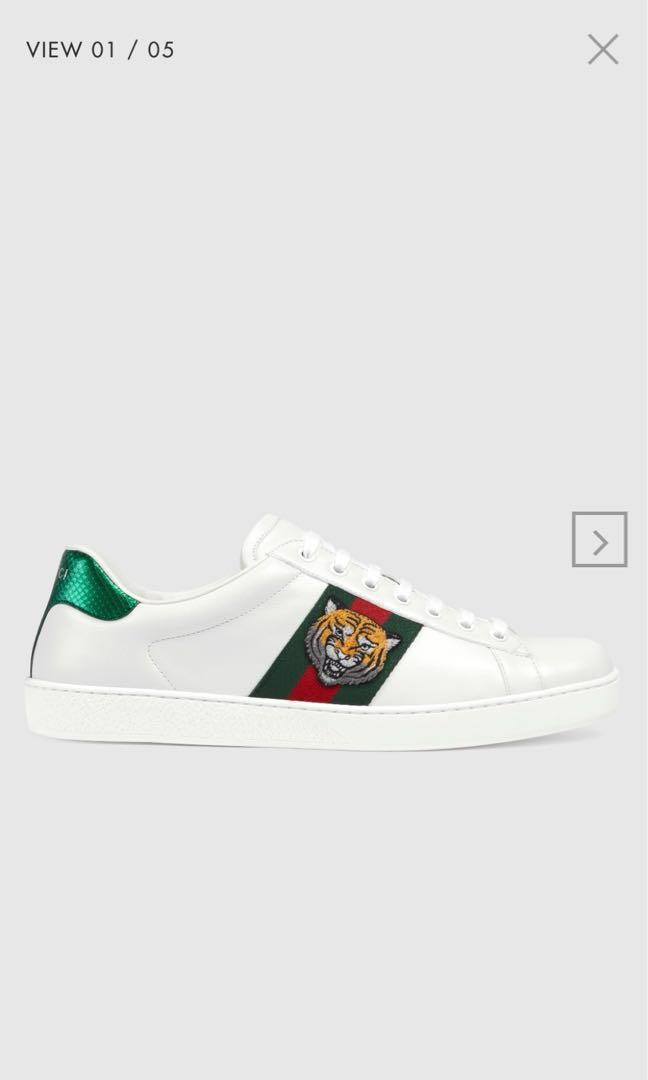 1646790c6 Gucci Ace Embroidered Sneakers, Luxury, Shoes on Carousell