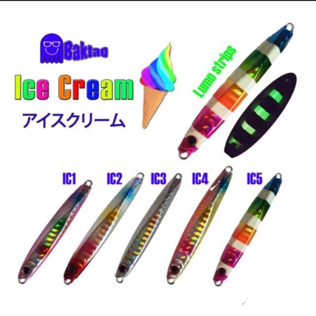 Ice Cream Micro Jigs For Fishing (30g only)