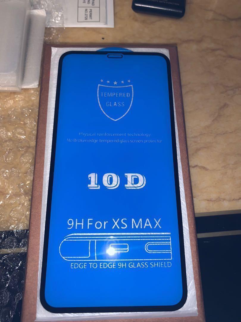 iPhone XS Max 10D高清玻璃貼