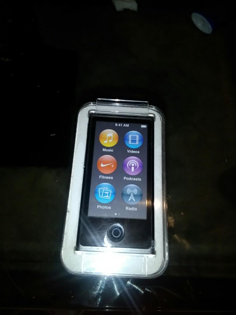 Ipod nano touch screen