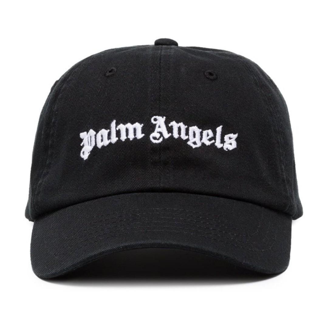 c35efcbca2e LIMITED RESTOCK  Palm Angels Black Logo Cap