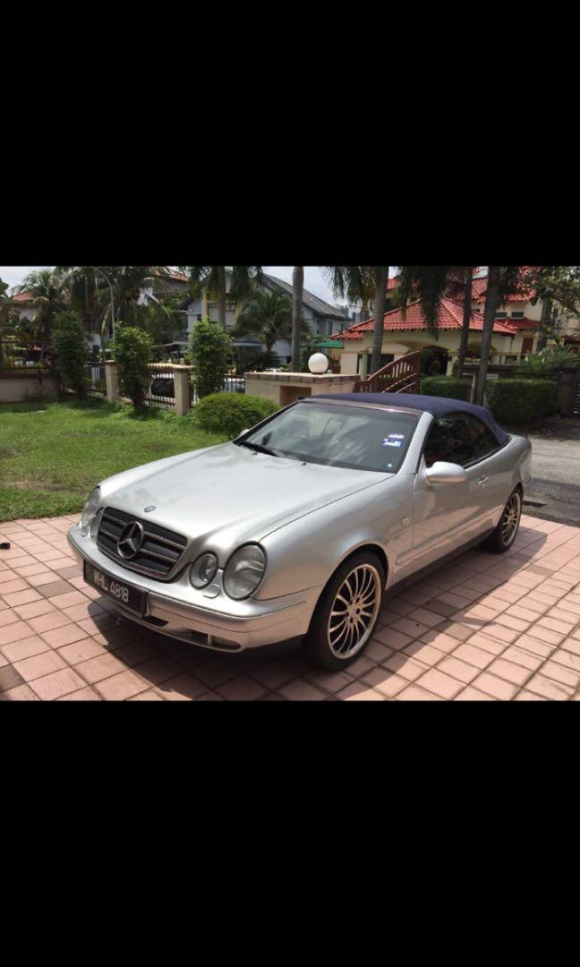 Mercedes call 230 convertible 3.2