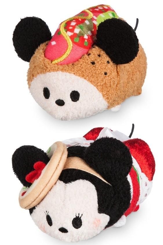 Mickey And Minnie Mouse Tsum Tsum Plush Chicago Set Mini 3 12