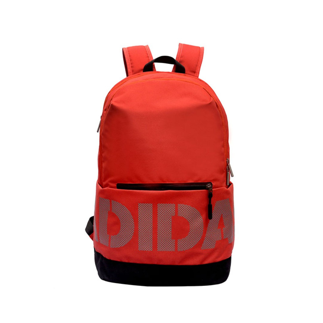 25b7d23427 New CNY Sales Adidas backpack double shoulder bag - Red style must ...