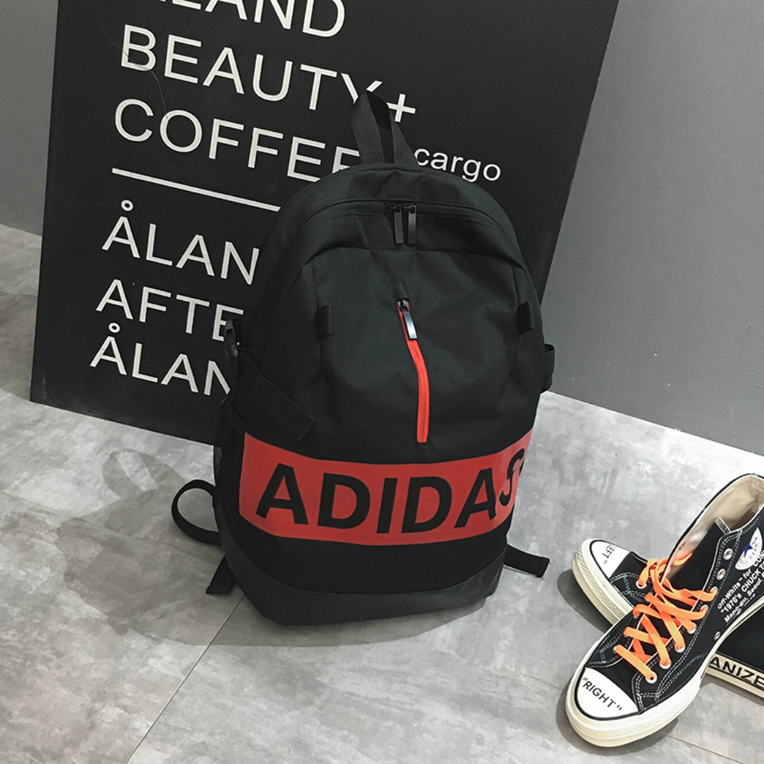 59a1a938c1 New CNY Sales Adidas bag Big Name - black New Arrival, Luxury, Bags ...