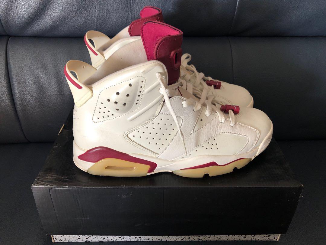 purchase cheap 7a11d d4c28 Nike Air Jordan 6 Retro Maroon