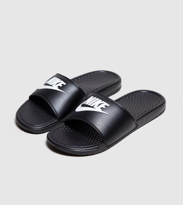 new concept 0dbde c84fd Nike Benassi Just Do It Slides, Men s Fashion, Footwear, Slippers ...