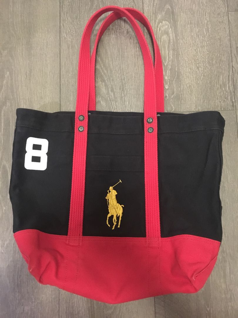 0a36996d497e Polo Ralph Lauren Tote Bag, Luxury, Bags & Wallets, Others on Carousell