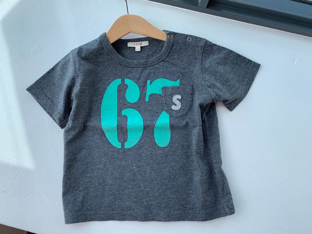 Preloved Seed Heritage T-shirt,2T