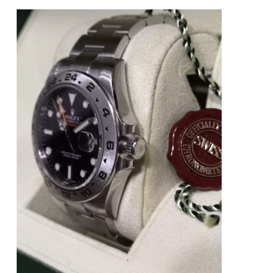 Rolex Explorer 2 Ref 216570 (Black Dial)