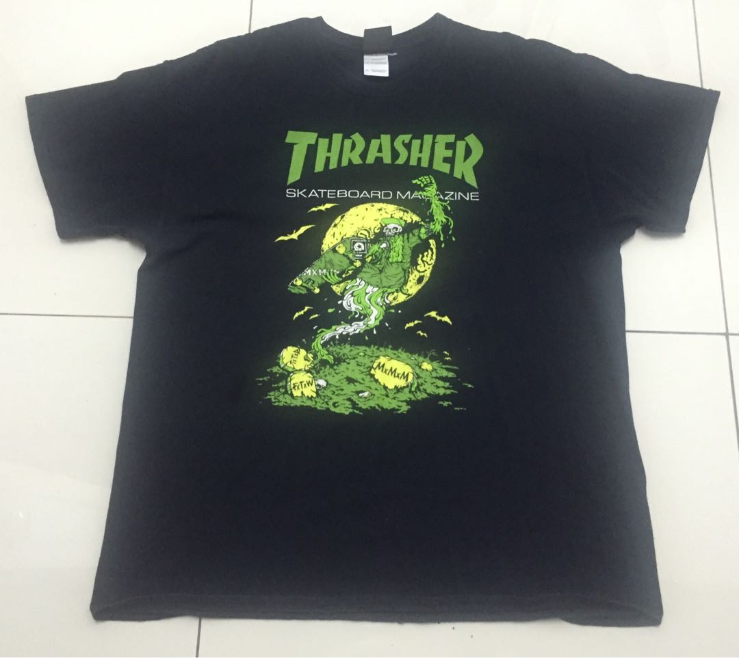 322c5f1bd t shirt Thrasher, Men's Fashion, Clothes, Tops on Carousell