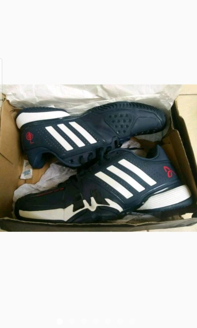 Tennis Shoes   Sepatu Tenis Adidas Barricade Novak Pro on Carousell 19231dbb1c