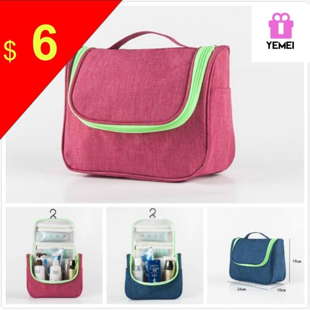 cc6834b6c7 Toiletry Bag Travel Toiletries Makeup Bag Sturdy Hanging Organizer ...