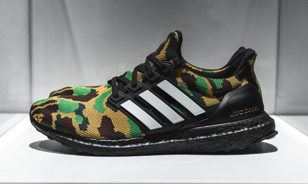 US 9 Adidas Ultraboost x Bape