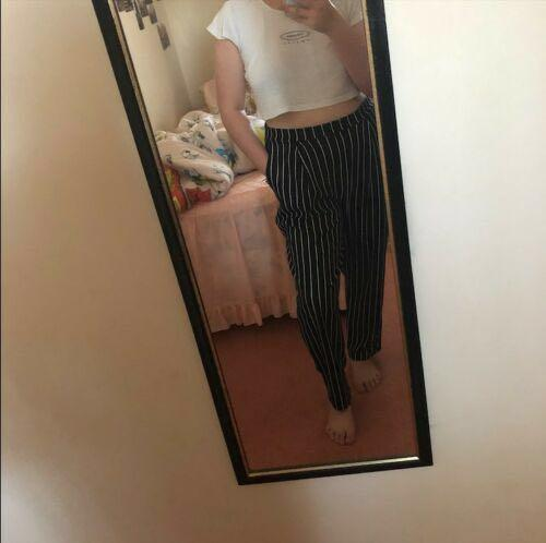 Valley Girl miss valley striped navy/black/white long pants